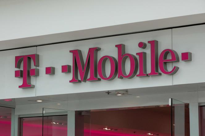 T-Mobile-winkel in Washington, 26 juli 2019.