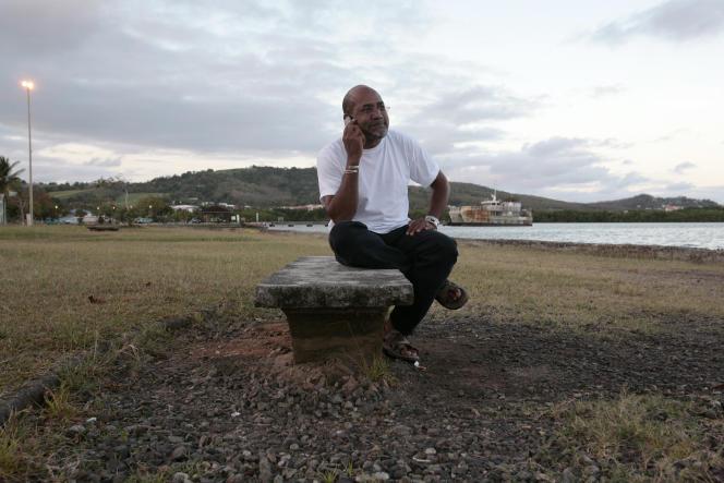 L'écrivain Patrick Chamoiseau à Fort-de-France (Martinique), en 2007.