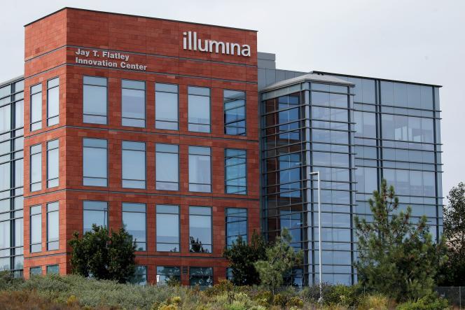 Les bureaux de la biotech Illumina, à San Diego, en Californie, en octobre 2020.