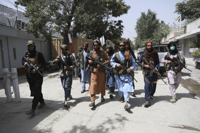 On August 18, the Taliban patrolled the streets of Kabul.