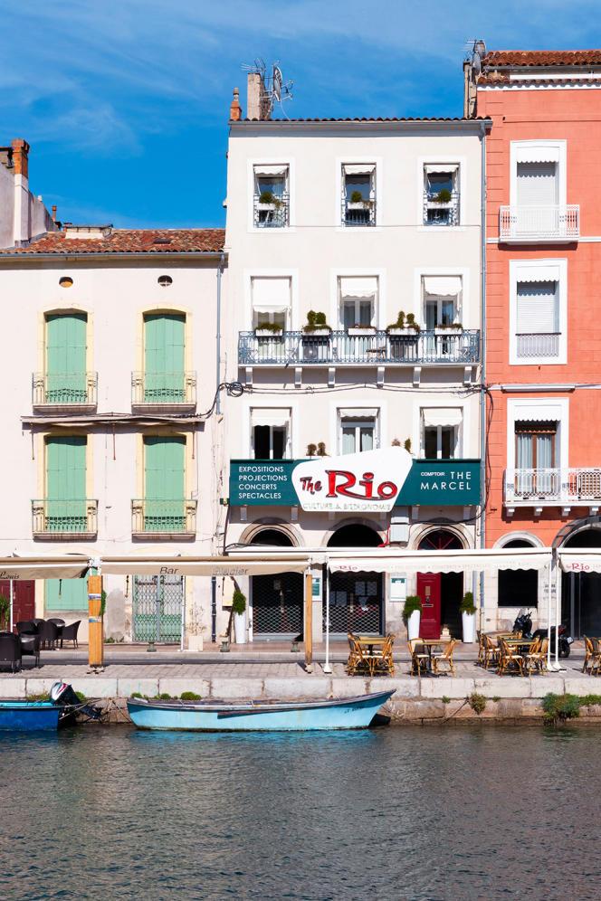 La façade de l'appart'hôtel The Marcel.