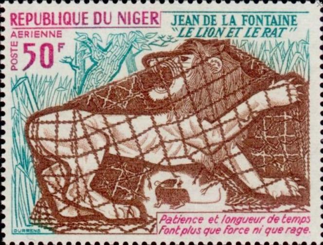 Timbre du Niger (1972).
