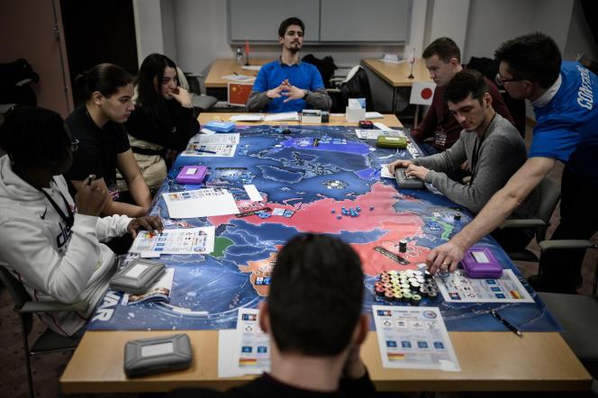Lors du Seious Games Forum, à Paris, en janvier 2020.