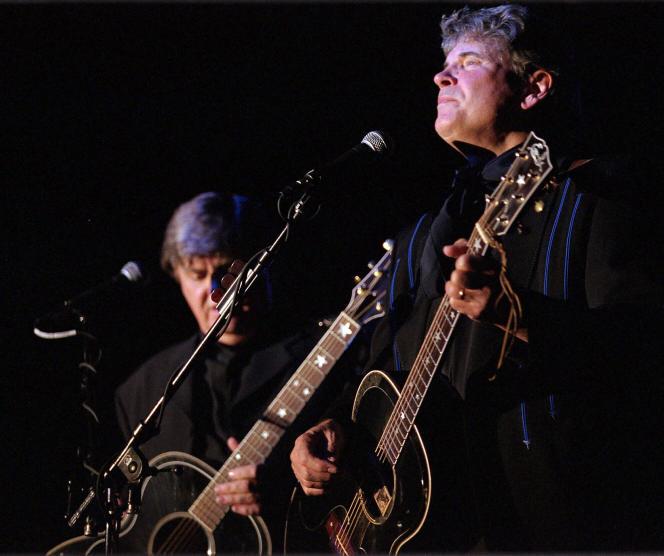 The Everly Brothers (sans droit), 15 octobre 2000, à Bojuaki Pueblo, Nouveau-Mexique.