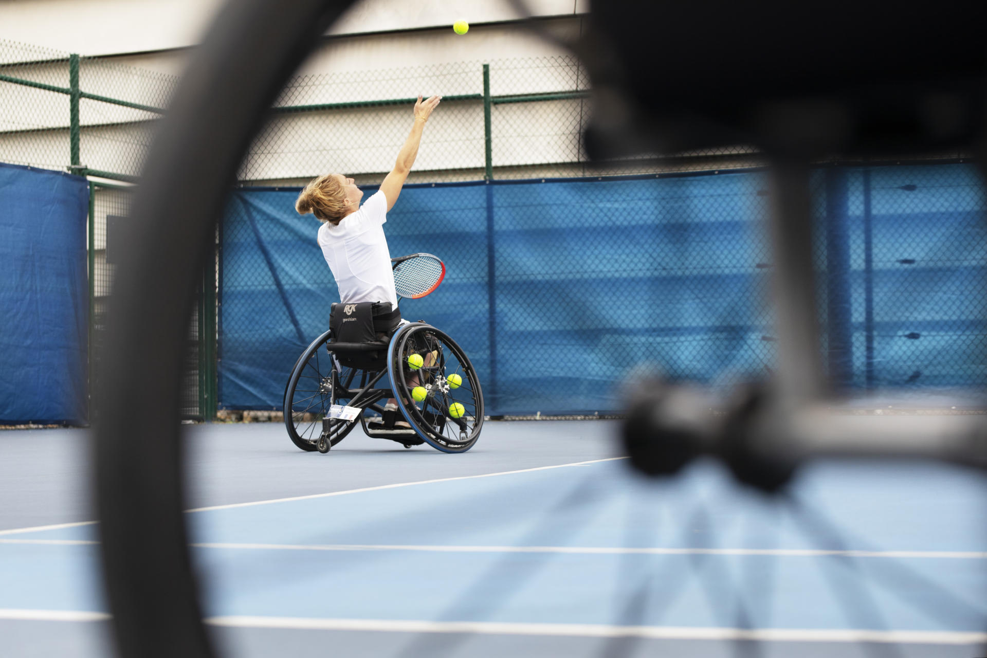French wheelchair tennis in quest of higher professionalism