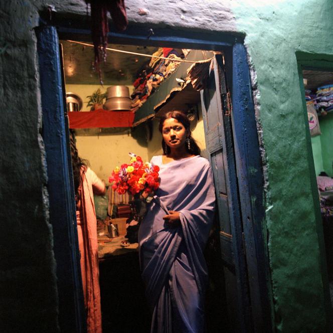 Baby, une prostituée de Calcutta, en 2006.