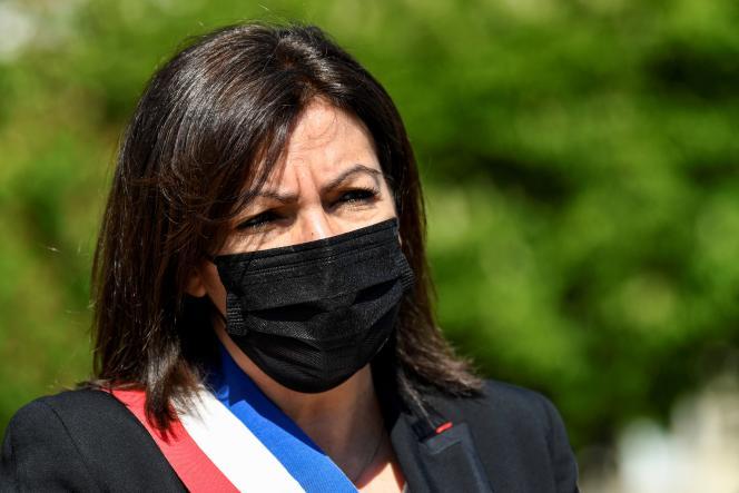 La maire de Paris, Anne Hidalgo, à Paris, le 24 avril 2021.