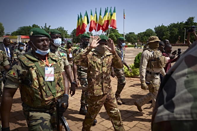 La veille du putsch militaire qui a mené le colonel Assimi Goïta à renverser le président malien Ibrahim Boubacar Keïta, le 24 septembre 2020.