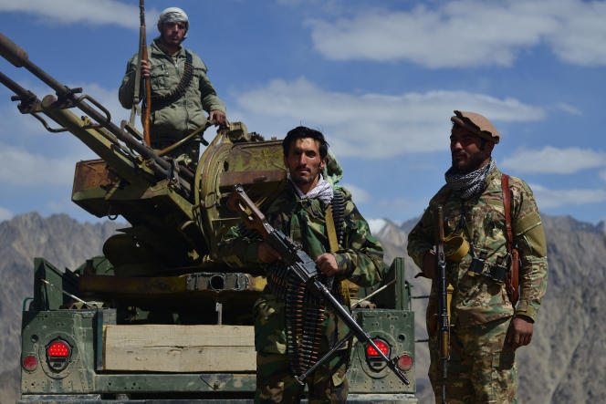 National Anti-Taliban Fighters Kodal-e Anjuman, Panjir Valley, Afghanistan, August 23, 2021.