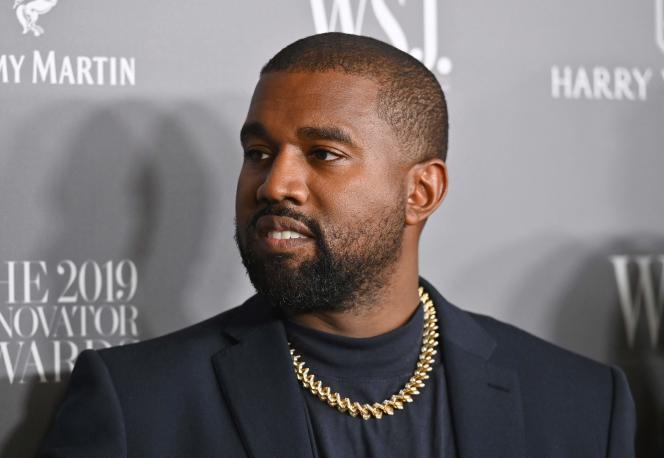 Rapper Amerika Kanye West, 6 November 2019, di New York City.