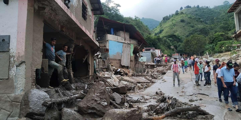 Au Venezuela, des pluies torrentielles font au moins 20 morts