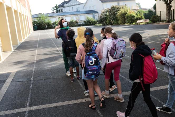 Le 2 septembre 2021, 12,4 millions d'élèves retournent en classe.