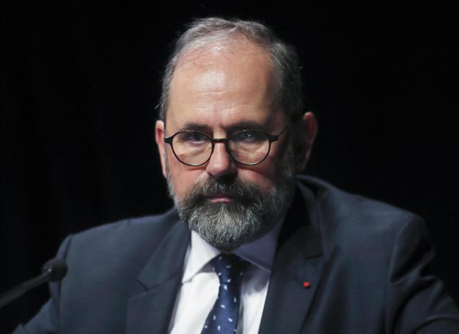 Philippe Laurent, maire de Sceaux, lors d'un congrès des maires de France, le 21 novembre 2017, à Paris.