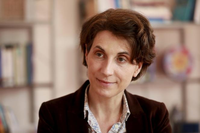 La administradora interina de Sciences Po, Bénédicte Durand, en Menton (Alpes-Maritimes), 19 de abril de 2021.