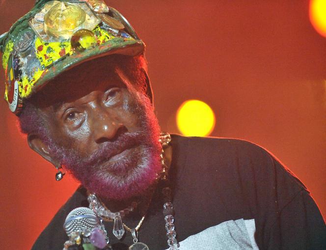 chanteur et producteur jamaïcain Lee