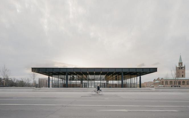 La Neue Nationalgalerie de Berlin, en avril 2021.