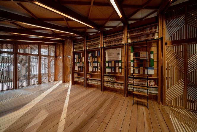 « Structures of Mutual Support », installation réalisée pour le pavillon philippin à la Biennale d'architecture de Venise 2021.