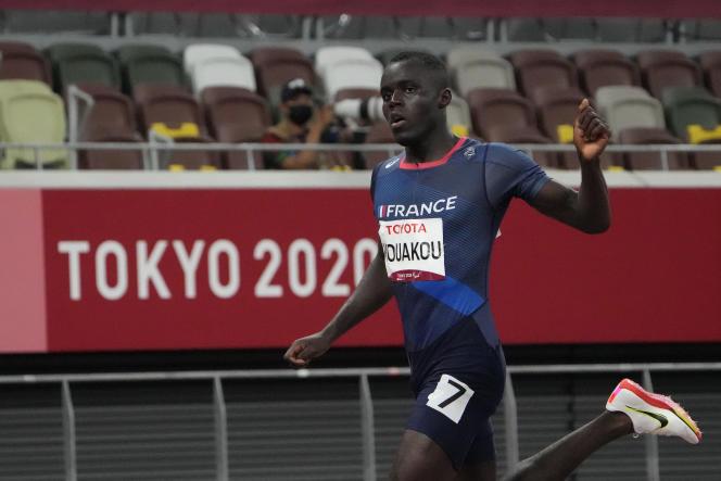 Biegacz Charles-Antoine Kwaku, 31 sierpnia 2021 r. w Tokio.