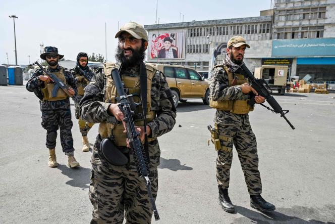 Pasukan khusus Taliban, bernama