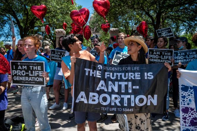 Proponents of abortion rights demonstrated in May 2021 in Austin, Texas.