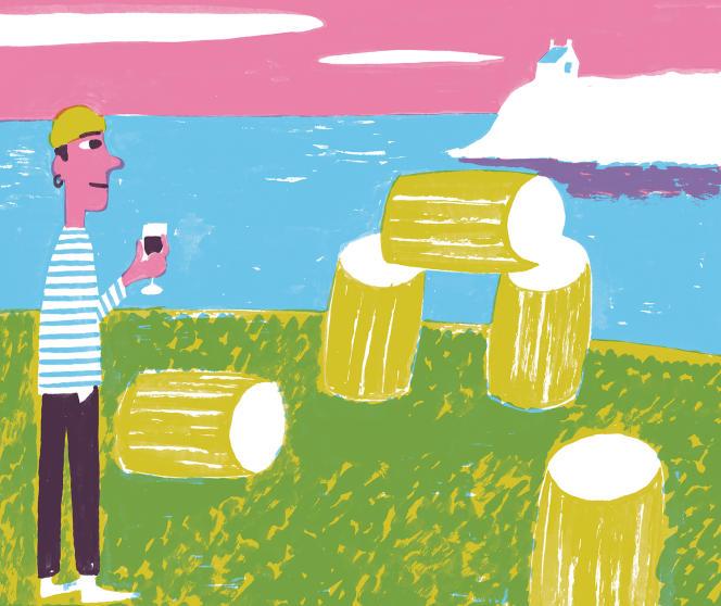 Selon des données cadastrales remontant à 1848, la région comptait encore à l'époque quelque 800 hectares de vignes. Au début du XXesiècle, le phylloxéra a eu raison de la vigne bretonne.