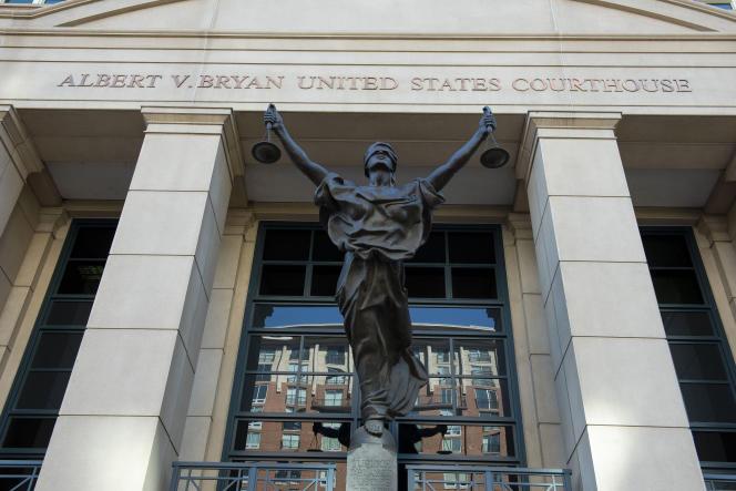 Tribunal em Alexandria, v., Quinta-feira, 2 de setembro de 2021.
