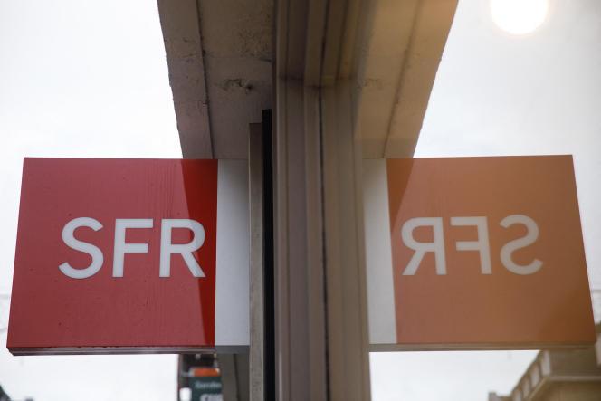 Une boutique SFR, à Paris, le 29 novembre 2019.