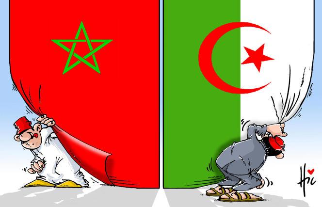 Dessin paru en « une » du « Monde » le 2 septembre, signé par le dessinateur algérien Le Hic.