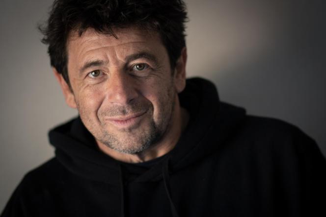Patrick Bruel, lors de la septième édition du Festival de La Baule, le 24 juin 2021.
