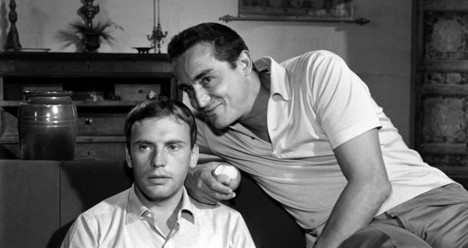 Jean-Louis Trintignant et Vittorio Gassman dans «Le Fanfaron» («Il Sorpasso», 1962), de Dino Risi.