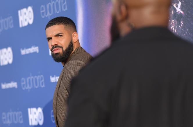 Le rappeur canadien Drake à Hollywood, en juin 2019.