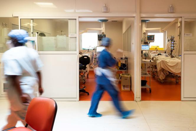 Point A Peter University Hospital Center, 3 september 2021.