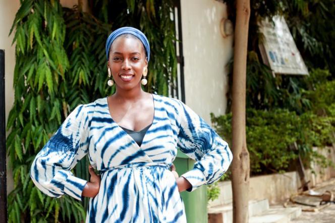 Seynabou Dieng en 2021 à Bamako.