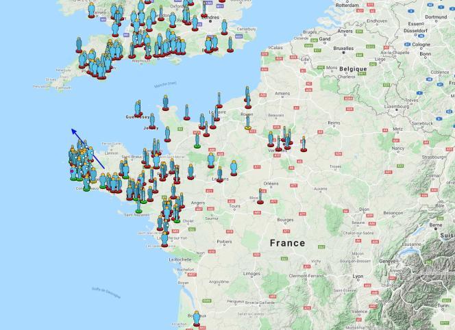 Le réseau Vigie-Ciel recense les témoignages et indique la trajectoire probable du bolide céleste, observé, dimanche 5septembre, à 23h47.
