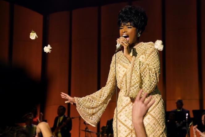 Aretha Franklin (Jennifer Hudson) dans «Respect» (2021), deLiesl Tommy.