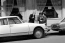 A car driver protesting to traffic wardens after they put a ticket on his car in Paris April 1975 75-2079-005 ©Mirrorpix/Leemage