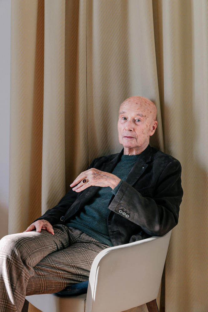 Gabriel Matzneff en 2020.