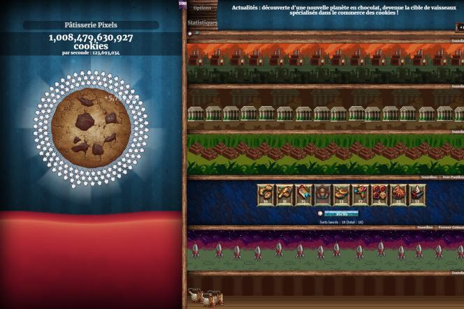 Si vous lancez une partie de «Cookie Clicker», armez-vous de beaucoup de patience.
