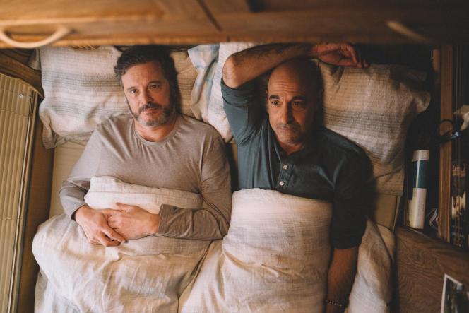Sam (Colin Firth) et Tusker (Stanley Tucci) dans «Supernova» de Harry Macqueen.