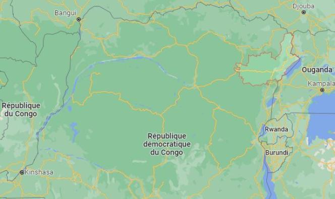 La province de l'Ituri, dans le nord-est de la République démocratique du Congo.