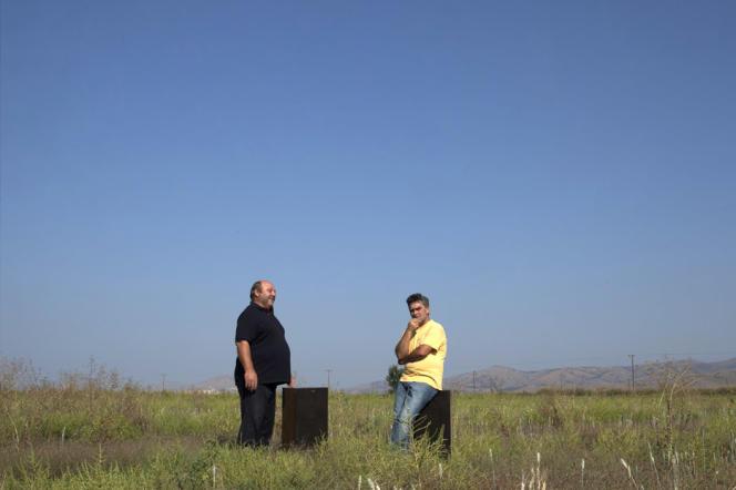 Image extraite du documentaire grec de Marianna Economou :«Quand les tomates rencontrent Wagner».