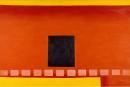 Georgia O'Keeffe Black Door with Red, 1954 Huile sur toile, 121,9 × 213,4 cm Chrysler Museum of Art, Norfolk, Virginie. Bequest of Walter P. Chrysler, Jr. Image Chrysler Museum of Art, Norfolk, VA