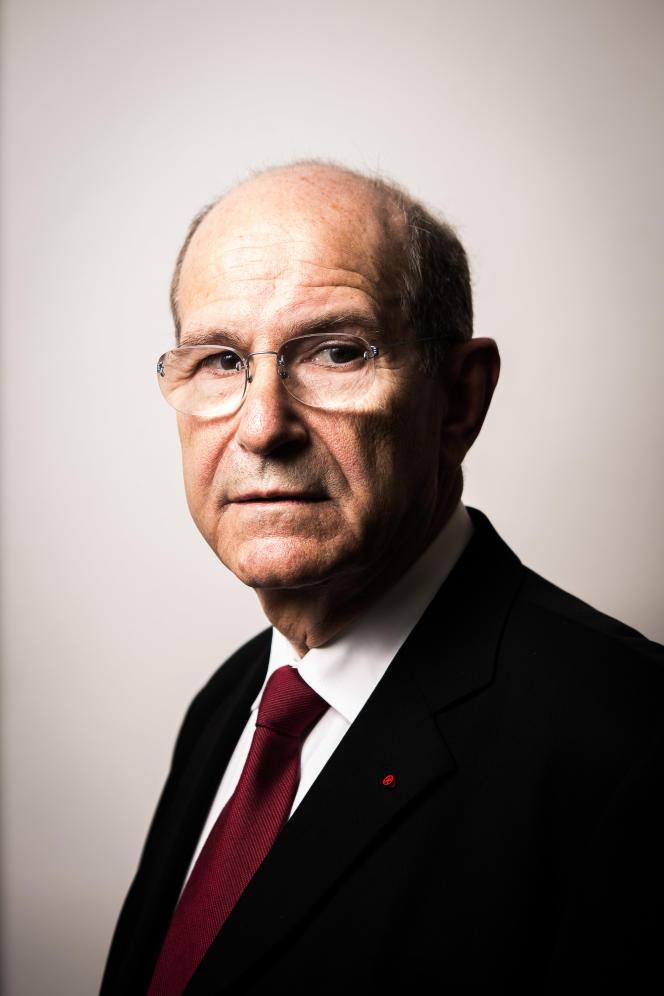 Alim-Louis Benabid, en février 2016.