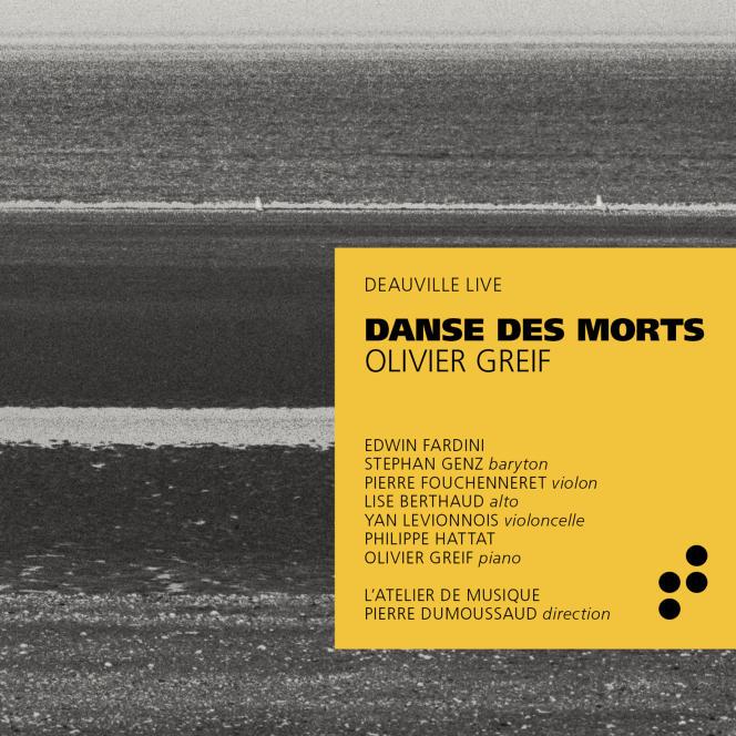 Pochette de l'album « Danse des morts», consacré au compositeur Olivier Greif.