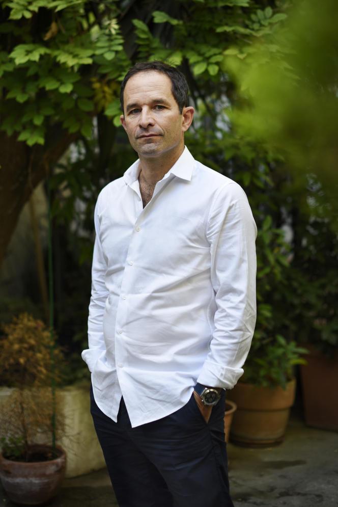 Benoît Hamon, à Paris, le 8 septembre.