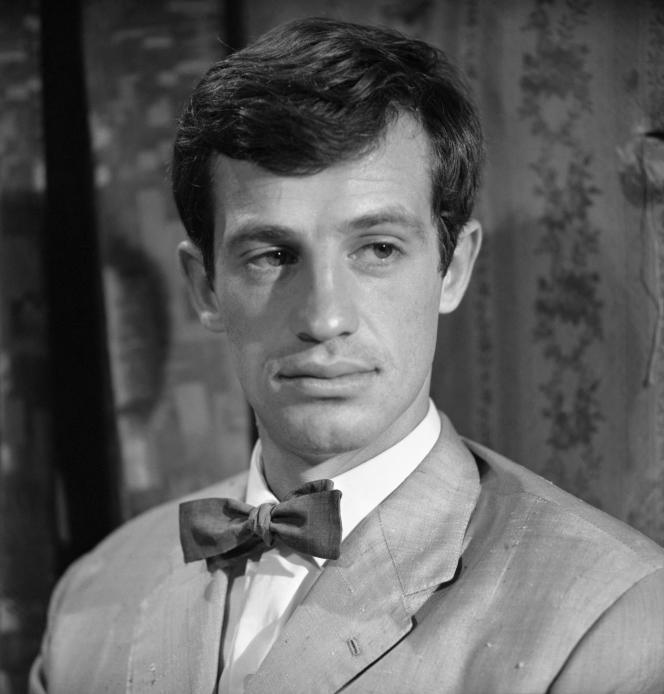 Jean-Paul Belmondo dans «L'aîné des Ferchaux», deJean-Pierre Melville, sorti en 1963.