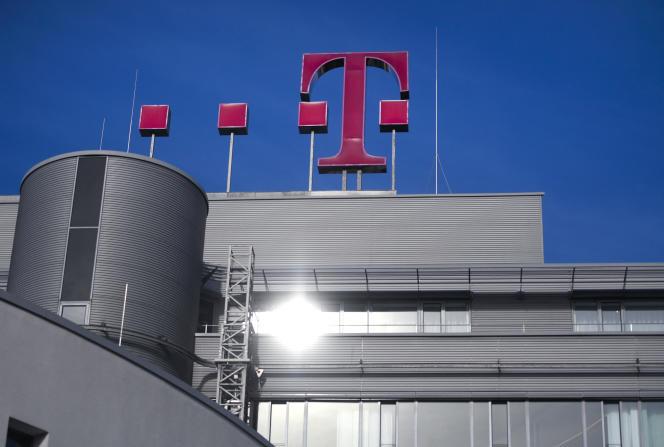 Siège du géant allemand des télécommunications, Deutsche Telekom, à Bonn, dans l'ouest de l'Allemagne,le 25 octobre 2019.
