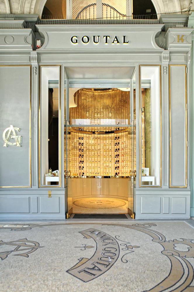 La boutique Goutal de la rue de Castiglione, à Paris.