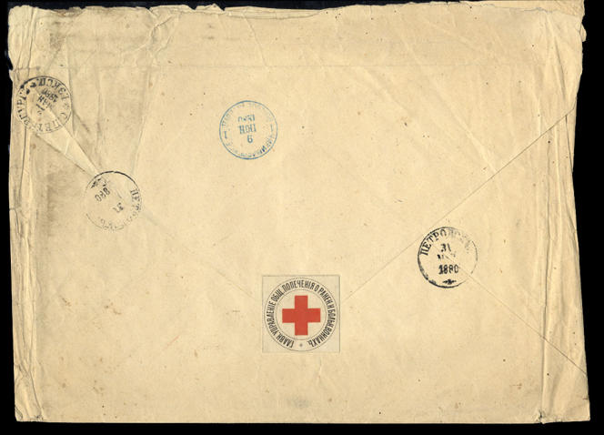 Lettre de 1880 adjugée 3000 dollars en 2009.