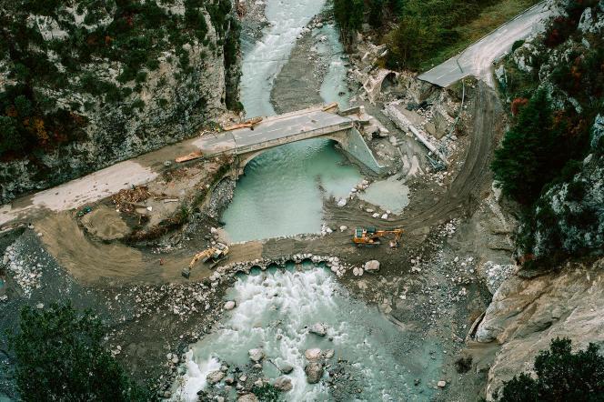 A Saorge (Alpes-Maritimes), en novembre2020.